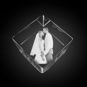 "alt=""skleneny diamant logo pre firmy fotografie ludi"""