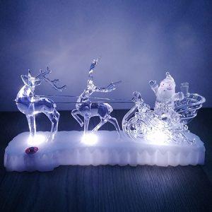 alt=''Vianocna dekoracia soby a santa