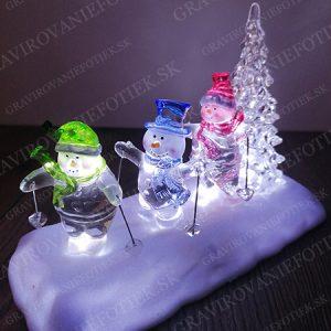 """alt=""""Svietiaca vianocna dekoracia pre deti do domu a izby"""