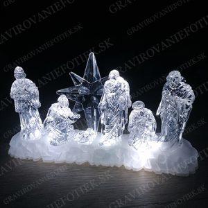 """alt=""""Led dekoracia svietiaca na stol vianočná"""""""