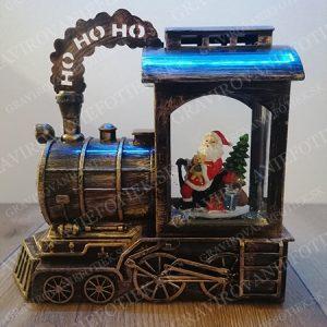"alt=""Santov vlacik vianocna dekoracia do izby detska hracka"