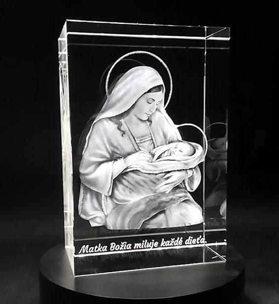 3D Panna Maria v skle